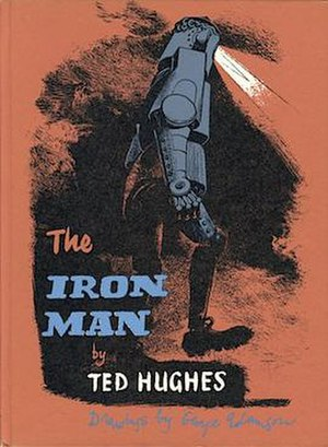 The Iron Man (novel) - Adamson cover of first edition