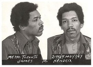 Canadian drug charges and trial of Jimi Hendrix 1969 trial