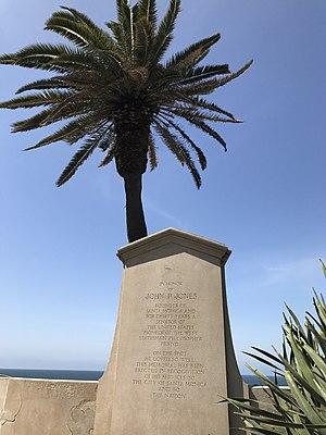John P. Jones - Monument to John P. Jones in Palisades Park.