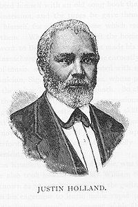 Portrait from the book Men of Mark (1887).