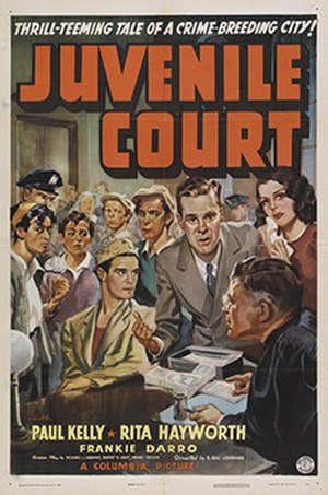 Juvenile Court (film) - Theatrical release poster