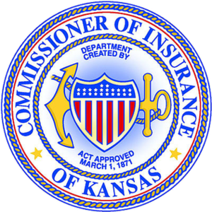 Kansas Insurance Commissioner - Image: KS Insurance Commissioner seal