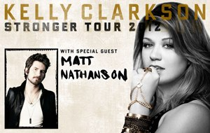 Stronger Tour - Image: Kelly Clarkson Stronger Tour Banner