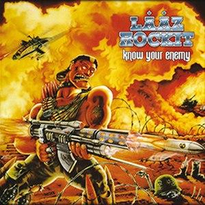 Know Your Enemy (Lȧȧz Rockit album) - Image: Know your enemy La Ro
