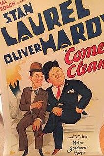 <i>Come Clean</i> (film) 1931 film