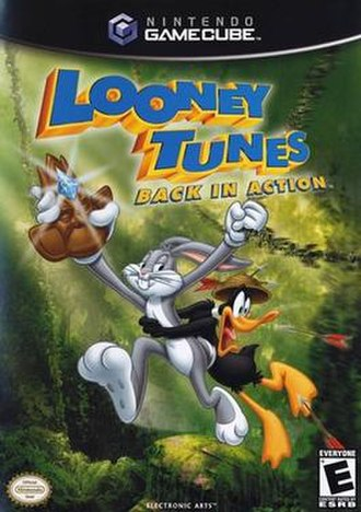 Looney Tunes: Back in Action (video game) - North American cover art for GameCube