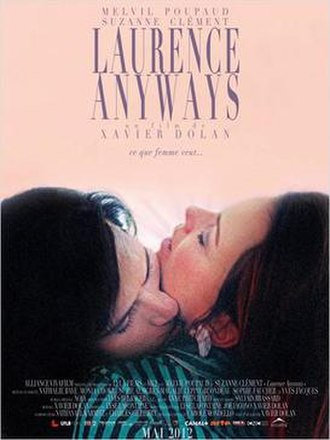 Laurence Anyways - Official theatrical poster