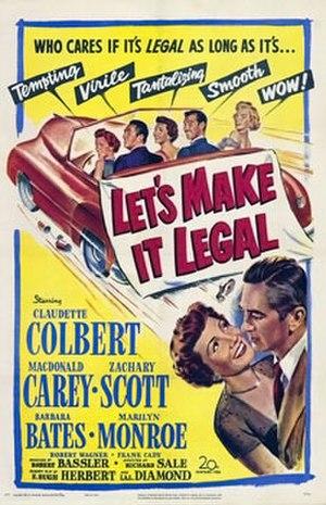 Let's Make It Legal - Original film poster