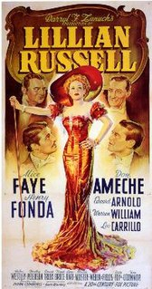 <i>Lillian Russell</i> (film) 1940 film by Irving Cummings
