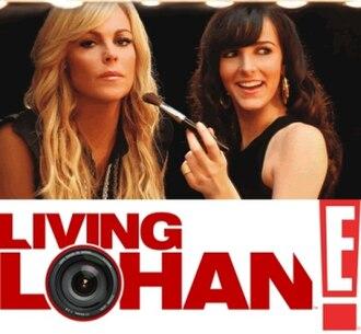 Living Lohan - Living Lohan opening title.