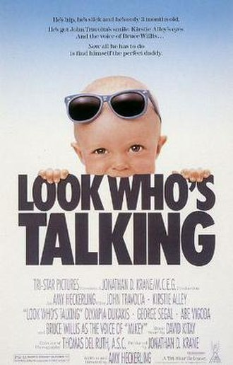 Look Who's Talking - Theatrical release poster
