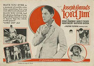 Lord Jim (1925 film) - Theatrical poster