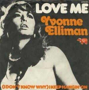 Love Me (Bee Gees song) - Image: Love Me Yvonne Elliman