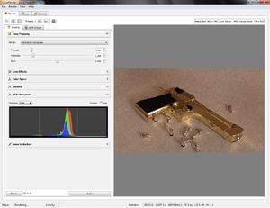 LuxRender - Image: Luxrender 0.7 Screenshot