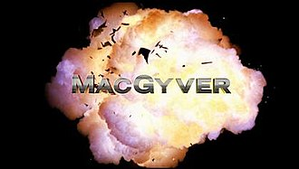 MacGyver (2016 TV series) - Title card for the first season. Subsequent seasons featured a different title card after the opening sequence was redesigned.