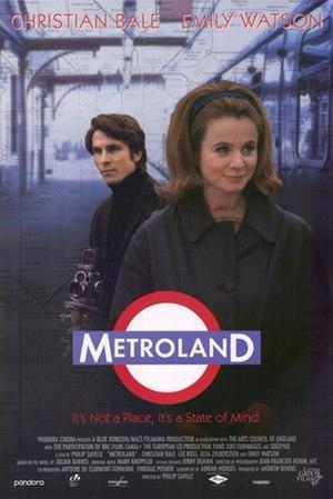 Metroland (film) - Image: Metroland 1997 Poster