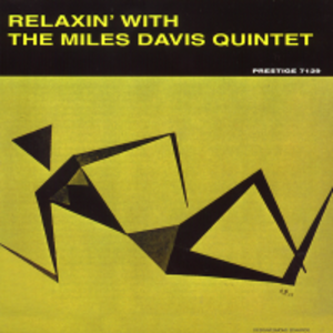 Relaxin' with the Miles Davis Quintet - Image: Miles Davis relaxin