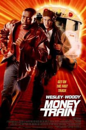 Money Train - Theatrical release poster