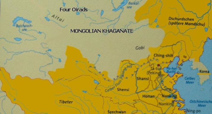 Mongolia in the early 15th century