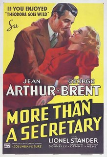 <i>More Than a Secretary</i> 1936 film by Alfred E. Green