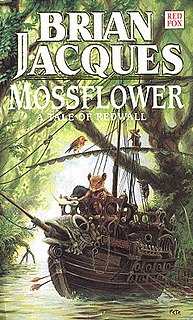 <i>Mossflower</i> book by Brian Jacques