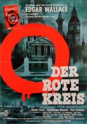 Der rote Kreis - German poster