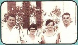 St. Margaret's School, Brunei - Mr. John Heath, Ms. Olwyn Parker, Ms. Sheila Vicars and Mr. David Vicars