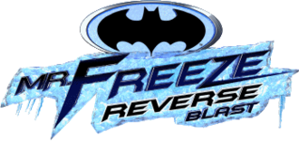 Mr. Freeze (roller coaster) - Image: Mr Freeze Reverse Blast logo
