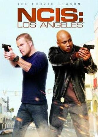 NCIS: Los Angeles (season 4) - Season 4 U.S. DVD cover