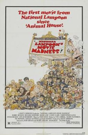 National Lampoon's Movie Madness - Theatrical release poster