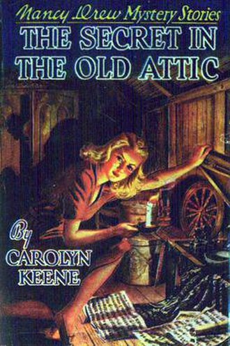 The Secret in the Old Attic - Original edition cover