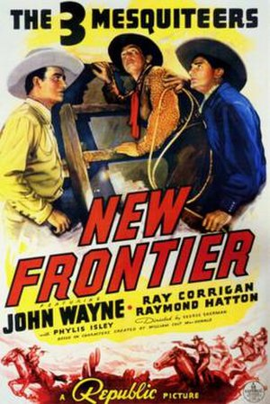 New Frontier (film) - Theatrical poster
