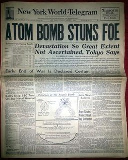 <i>New York World-Telegram</i> New York City newspaper from 1931 to 1966