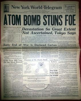 New York World-Telegram 8-07-1945