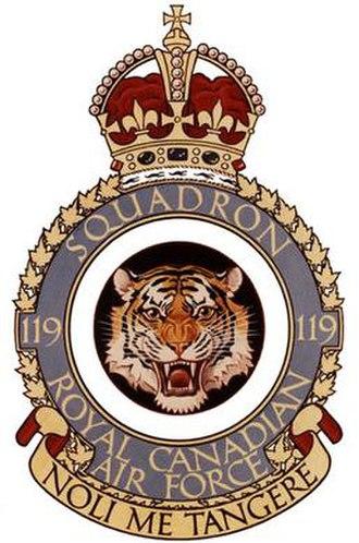 No. 119 Squadron RCAF - Image: No. 119 Squadron RCAF badge