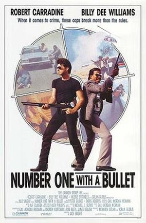 Number One with a Bullet (film) - Theatrical release poster