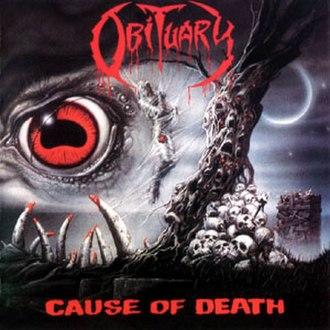 Cause of Death (album) - Image: Obituary Cause of death