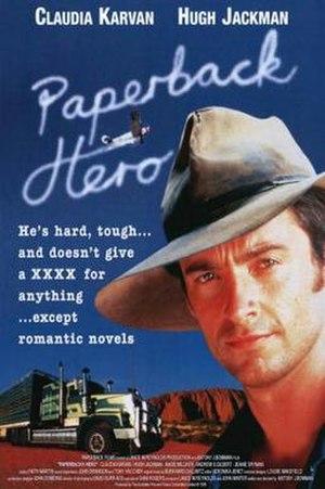 Paperback Hero (1999 film) - DVD cover