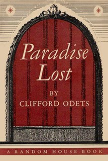 <i>Paradise Lost</i> (play) 1971 television film directed by Glenn Jordan