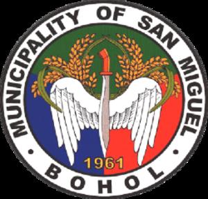 San Miguel, Bohol - Image: Ph seal san miguel, bohol