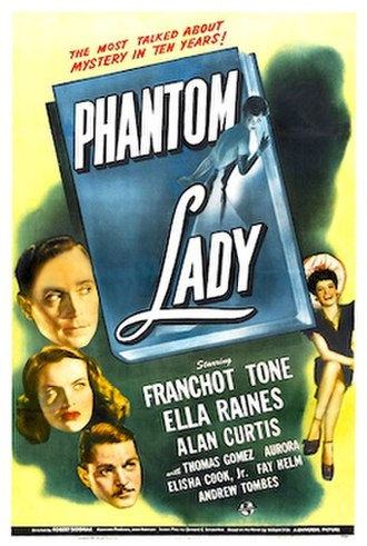 Phantom Lady (film) - Theatrical release poster