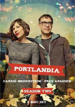 Portlandia (season 2) - Image: Portlandia S2 DVD