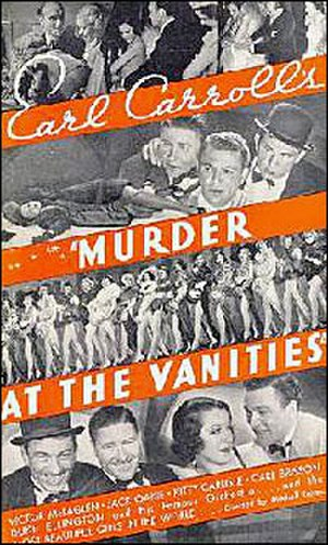 Murder at the Vanities - Image: Poster from 1934's Murder at the Vanities