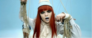 Price Tag - Jessie J as a marionette in the music video.