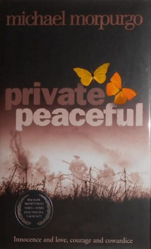 Private Peaceful - Frontispiece, first edition: 2003.