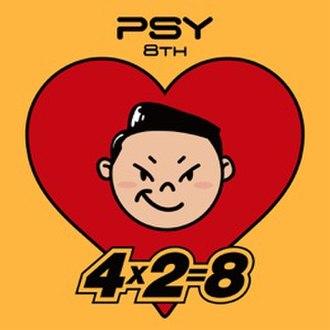 4X2=8 - Image: Psy's 4X2=8 album cover