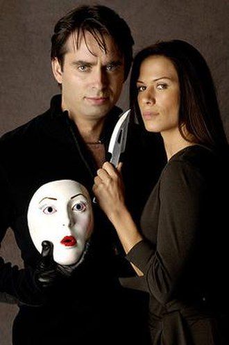 Carver (Nip/Tuck) - The Carver unmasked; Quentin Costa and his co-conspirator/sister Kit McGraw