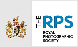 Royal Photographic Society - Image: RPS coat of arms and logo