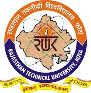 Rajasthan Technical University - Image: Rajasthan Technical University logo