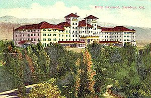 Raymond Hotel - The second Raymond Hotel built 1901, torn down 1934.